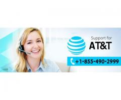 AT&T email +1-855-490-2999 support phone number