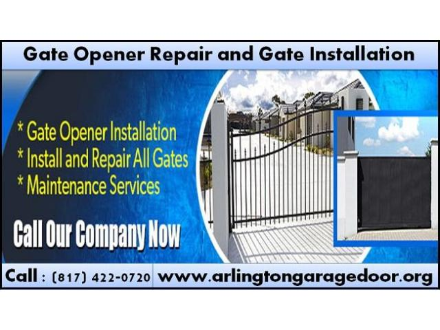 Best Gate Opener Repair and New Gate Installation Service Starting $26.95
