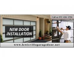 New Garage Door Installation | Garage Door service Lewisville, TX