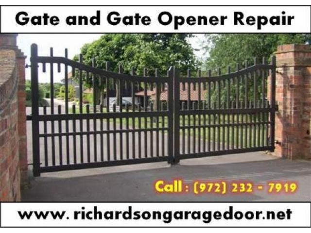 Gate Opener Repair and Installation Service Starting $26.95