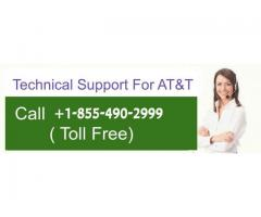 Dial +1-855-490-2999 AT&T email helpline phone Number for any support