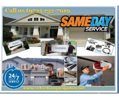 Professional Garage Door Repair and Installation in Richardson, Dallas @ Starting $26.95