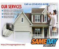 Commercial New Garage Door Installation and Repair in Frisco, Dallas | $26.95