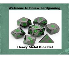 Awesome Heavy Metal Dice Store Online | Bluewizardgaming