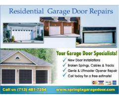 Best offer only start $26.95 | New Garage Door Installation in Spring, TX