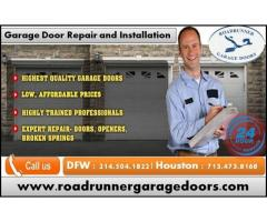 Garage Door Installation and Repair Service Starting $26.95