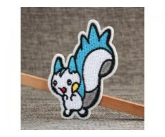 Custom Sew On Patches   Little Squirrel Custom Sew On Patches