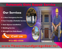 Most Reliable Swing Gate Repair Flower Mound, TX