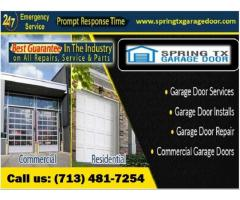 Call us (713) 481-7254  for New Garage Door Installation in Spring, TX