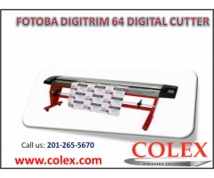 Call us now (201-265-5670) fotoba digitrim 64 digital cutter | colex.com