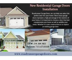Emergency Residential Garage door Installation Houston, TX