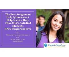 Get your solution by our assignment help Service Experts