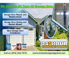 Leading #1 New Garage Door Installation company in Richardson, TX