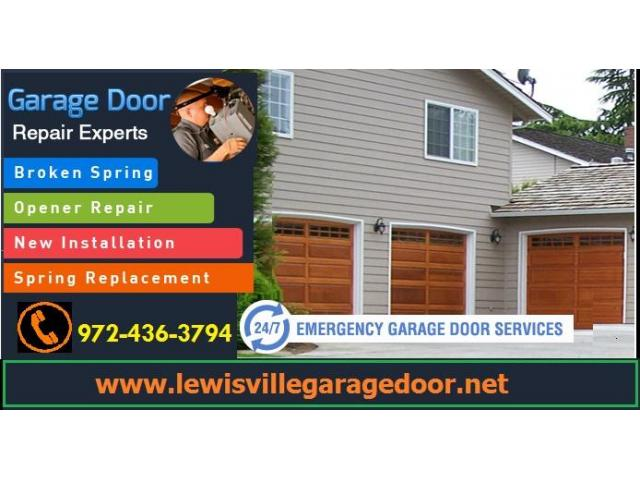 Fast Garage Door Installation Lewisville TX