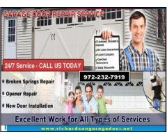 Top Most Listed New Garage Door Installation company in Richardson, TX