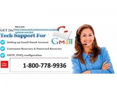 Gmail Customer Support Number 1-800-778-9936