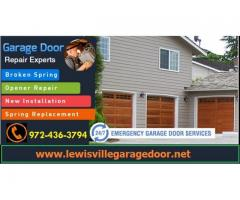 Starting $25.95 New Garage Door Installation 75056, TX