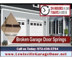 Top Garage door spring repair - Lewisville, Dallas