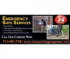 24/7 Automatic Gate Repair in Missouri city, TX