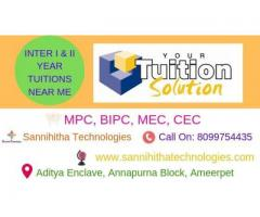 Inter Tuitions in Hyderabad