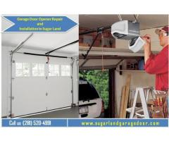 Specialized Garage Door Opener Repair & Installation in 77498