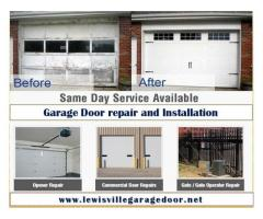 Top Garage door repair & Installation - Lewisville, Dallas