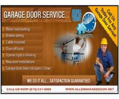Most Powerful New Garage Door Installation company in Allen, TX