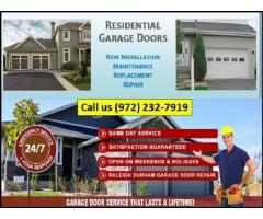 Professional and Reliable Garage Door Repair Service 75081