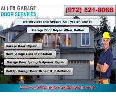 Broken Garage Door Repair Expert Company in Allen, TX