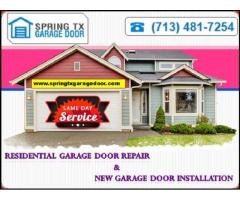 Emergency Garage Door Repair and Installation Company | Spring, TX