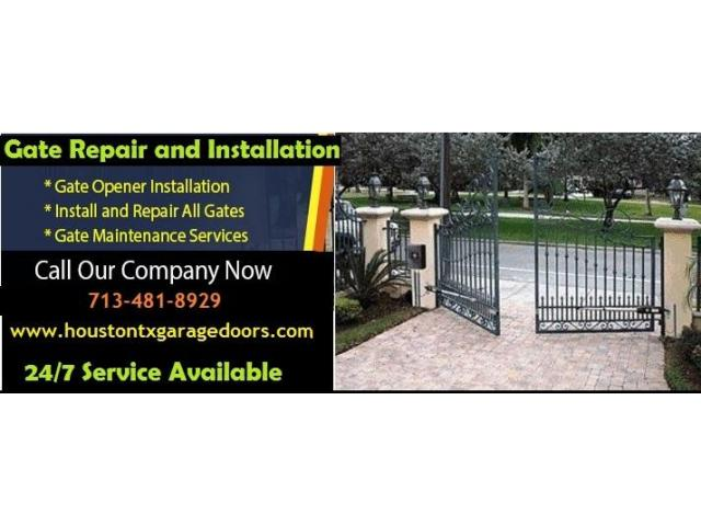 Most Reliable Automatic Gate Installation | Houston, TX
