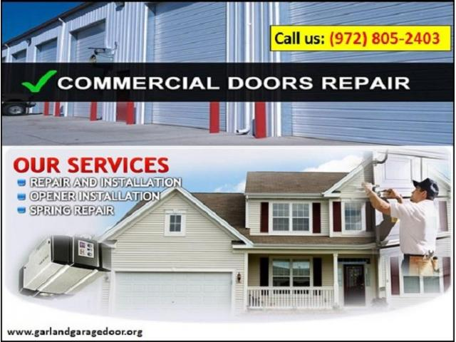 Garage Door Spring Repair | 972-805-2403 | Garland, TX