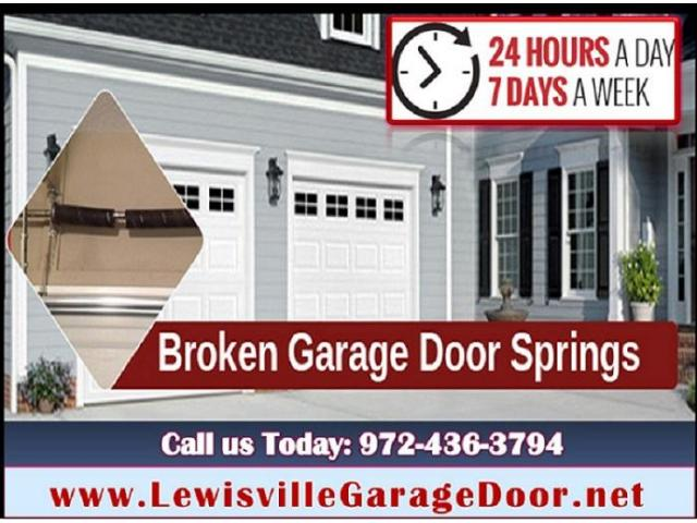 Affordable Garage Door Spring Installation and Repair- $25.95