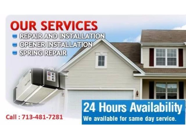 Local garage door repair | 24 hrs Service - Missouri City