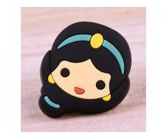 Cartoon Princess Jasmine PVC Patches