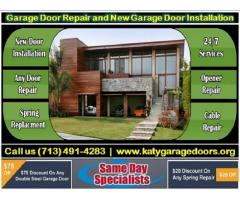 Garage Door Installation and Repair | Same Day Service Available