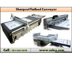 American Most Reliable Sharp cut Flatbed Conveyer Cutter | Colex.com