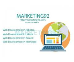 Marketing92: Best Web Development in Pakistan