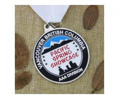 Pacific Spring Showcase Customized Medals