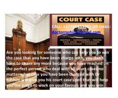 Get this court spell that will bring victory in your court case charge, call Dr Rashim: +27788453901