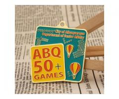 ABQ 50+ Games Sports Medals
