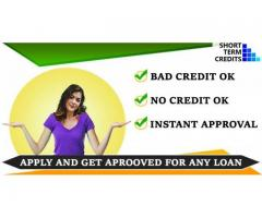 Get personal loans for bad credit | short term credits