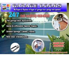 Call (214) 452-6238 For A+ Rated Garage Door Repair Service | Frisco 75034 TX