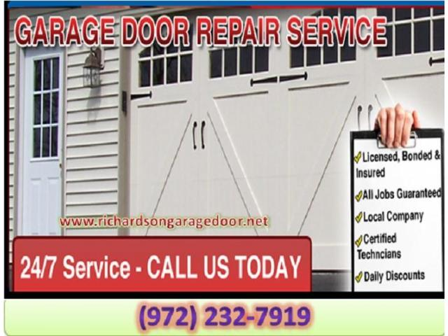 Call (972) 232-7919 for A+ Rated Garage Door Repair Services | Richardson 75081 TX