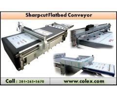 Colex Sharpcut Flatbed Conveyer Cutter | Affordable Digital Flatbed Cutter | NJ 07407