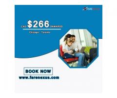 Return Flight Tickets | Chicago- Toronto