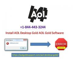 AOL Customer Support Number +1-844-443-3244
