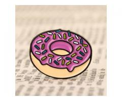 Doughnut Enamel Pins No Minimum
