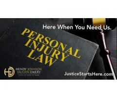 Here when you need us : Personal injury Law