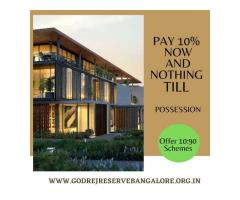 Godrej Reserve Plots New Residential Project at Devanahalli, Bangalore